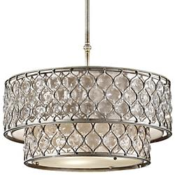 Lucia Chandelier (Burnished Silver) - OPEN BOX RETURN