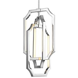 Audrie Chandelier (Polished Nickel) - OPEN BOX RETURN
