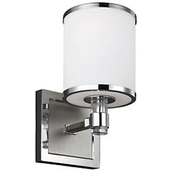 Prospect Park Wall Sconce (Chrome) - OPEN BOX RETURN
