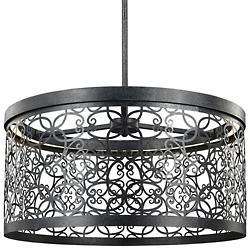 Arramore Outdoor LED Pendant (Zinc) - OPEN BOX RETURN