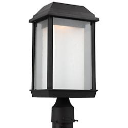 McHenry Outdoor LED Post Mount (Black) - OPEN BOX RETURN