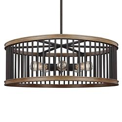 Locke 5 Light Drum Pendant