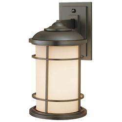 Lighthouse Wall Lantern (Burnished Bronze/Medium) - OPEN BOX