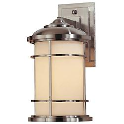 Lighthouse Wall Lantern (Steel/Medium) - OPEN BOX RETURN