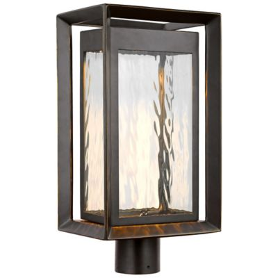 solar modern with lights post planter outdoor hsn lighting lamp