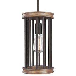 Locke Mini Pendant (Weathered Rustic Iron) - OPEN BOX RETURN