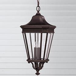 Cotswold Lane Outdoor Pendant (Bronze/Large) - OPEN BOX