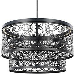 Arramore Indoor/Outdoor LED Pendant (Zinc) - OPEN BOX