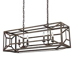 Marquelle Linear Suspension (Weathered Iron) - OPEN BOX