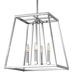 Conant Chandelier (Chrome/18 inch) - OPEN BOX RETURN