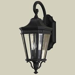 Cotswold Lane Hanging Wall Sconce (Black/Small) - OPEN BOX