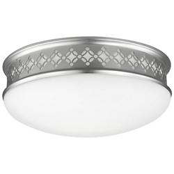 Devonshire Flushmount (Satin Nickel/13 Inch) - OPEN BOX