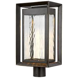 Urbandale Outdoor LED Post Lantern (Bronze) - OPEN BOX