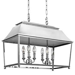 Galloway Linear Suspension (Polished Nickel) - OPEN BOX