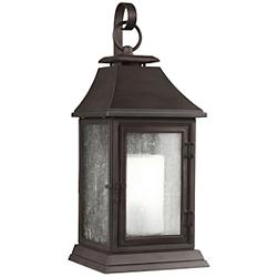 Shepherd Narrow Outdoor Wall Sconce