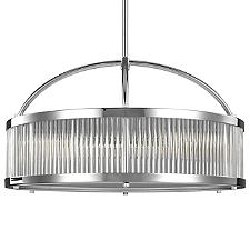 Paulson Drum Pendant Light - OPEN BOX RETURN
