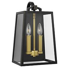 Lindbergh 2 Light Outdoor Wall Sconce