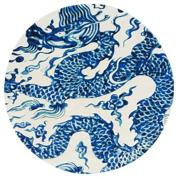 Blue China Rug