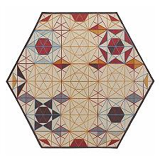 Hexa Hexagonal Rug