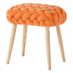 Knitted Stool - Plaits