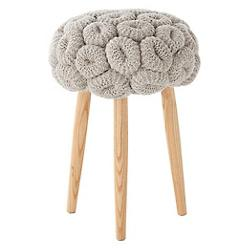 Knitted Stool - Rings