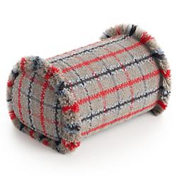 Garden Layers Outdoor Tartan Big Roll Cushion