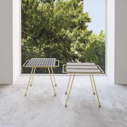 Mix & Match Brass Side Table