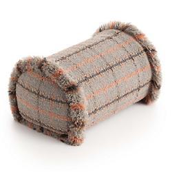 Garden Layers Tartan Big Outodoor Roll Pillow