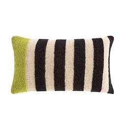 Rustic Chic Geo Lumbar Pillow, Pistachio