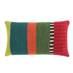 Rustic Chic Flower Lumbar Pillow, Multicolor