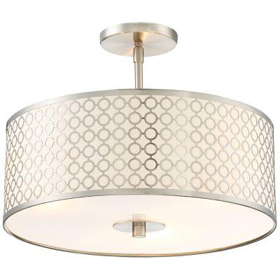 Semi flush ceiling lights semi flushmount lighting at lumens dots semi flushmount mozeypictures Gallery