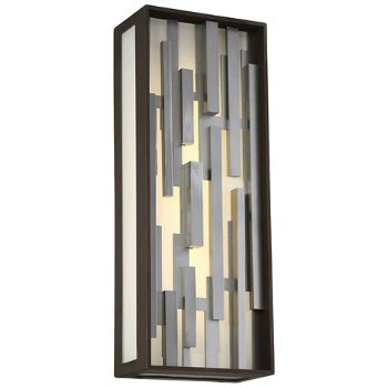 Bars Outdoor LED Wall Sconce