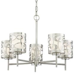 Links 5-Light Chandelier