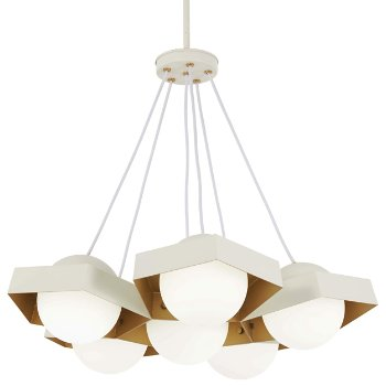 Five-O 6-Light LED Pendant