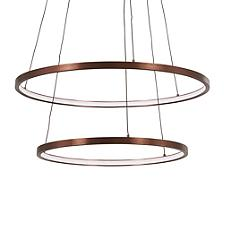 Full Orbit 2-Ring LED Pendant
