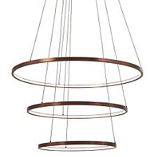 Full Orbit 3-Ring LED Pendant