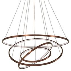 Full Orbit 4-Ring LED Pendant