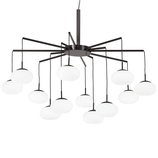 George's Web LED Chandelier / Semi-Flushmount