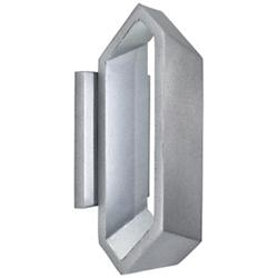 Pitch Outdoor LED Wall Sconce (Sand Silver/Small) - OPEN BOX