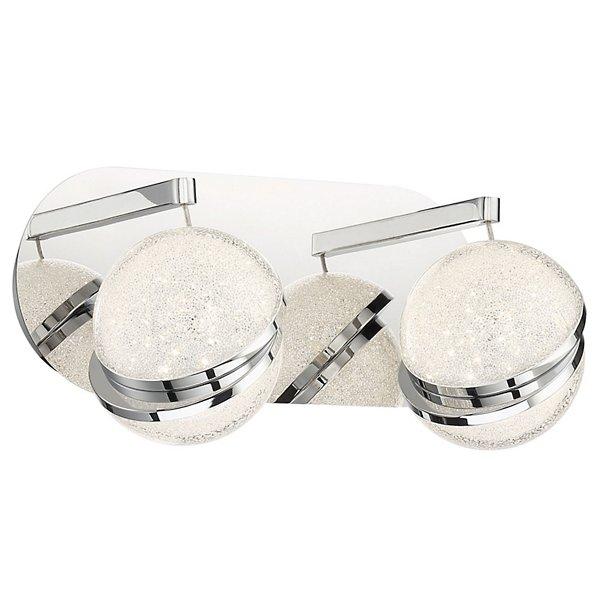 Silver Slice LED Bath Bar