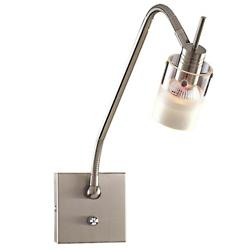 Pierce Wall Sconce (Nickel/Clear/Etched) - OPEN BOX RETURN