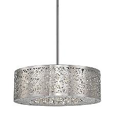 Hidden Gems LED Drum Pendant