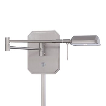 Georges Reading Room P4348 LED Swing Arm Wall