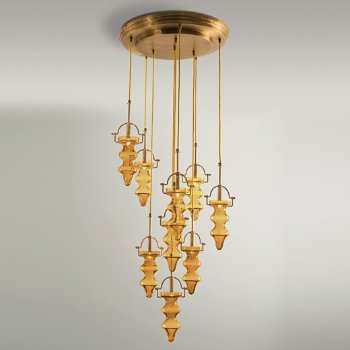 Shown in Amber/Yellow finish