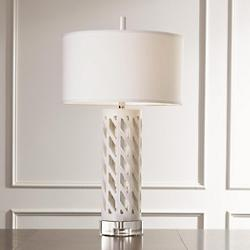 Diamond Fret Table Lamp