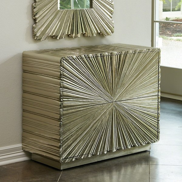 Linenfold Two-Drawer Chest