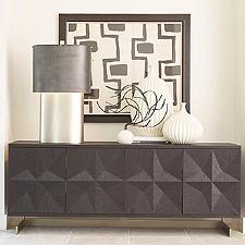 Cantilevered Star Media Cabinet