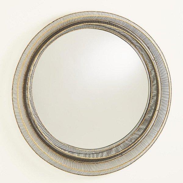 Wire Ribbon Mirror