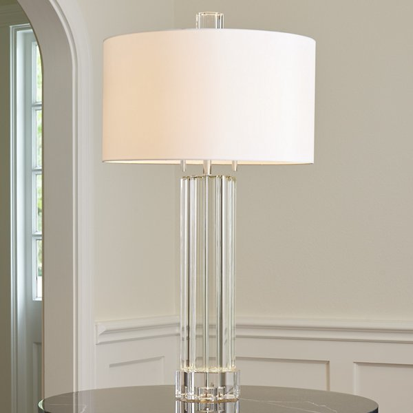 Fluted Table Lamp