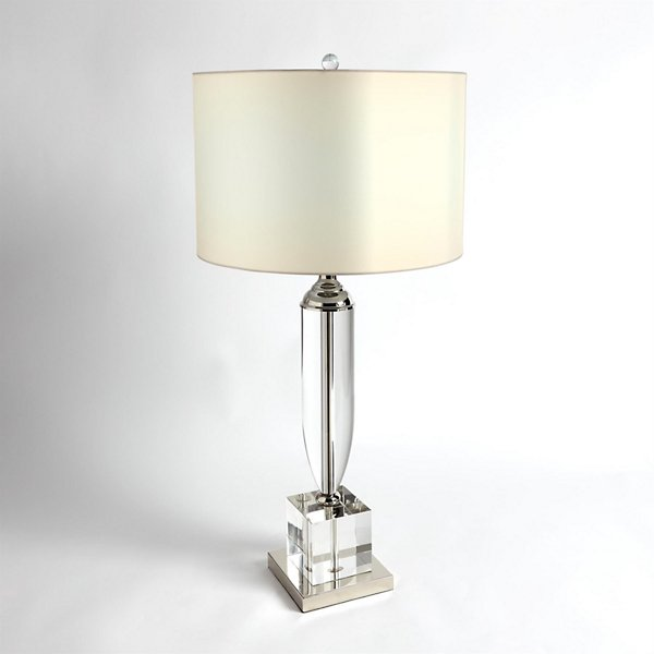 Classic Crystal Urn Table Lamp